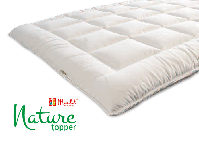 Topper MINDOL Nature Látex